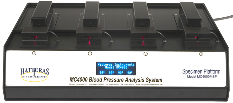Hatteras Mouse Multi Channel Blood Pressure Analysis System